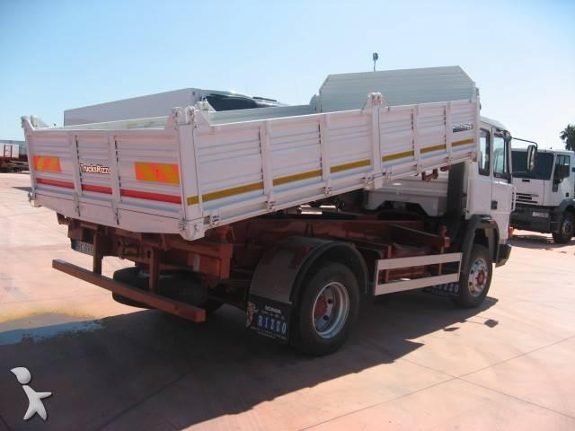camion iveco benne zeta 4x2 occasion n 75072. Black Bedroom Furniture Sets. Home Design Ideas