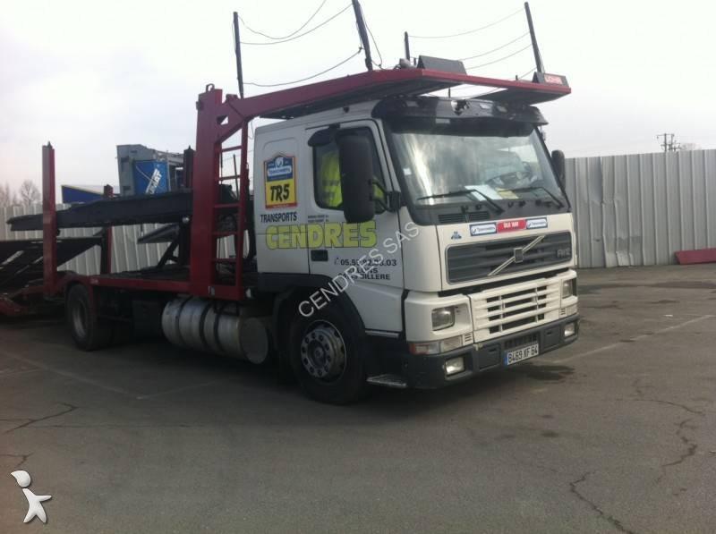 camion volvo porte voitures fm12 380 gazoil euro 2 occasion n 959827. Black Bedroom Furniture Sets. Home Design Ideas
