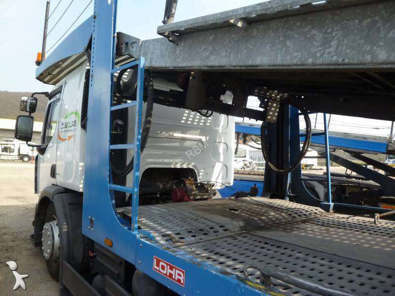 camion porte voitures occasion renault premium 450 dxi gazoil