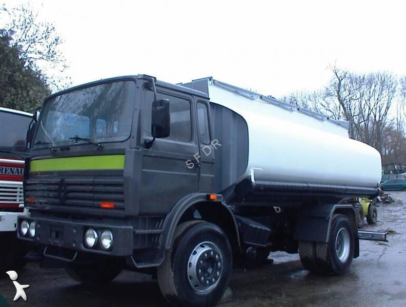 camion citerne occasion renault gamme g 230 gazoil annonce n 1356695. Black Bedroom Furniture Sets. Home Design Ideas