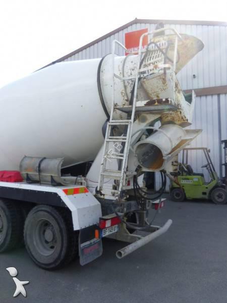 camion renault b u00e9ton toupie    malaxeur kerax 410 dxi 8x4