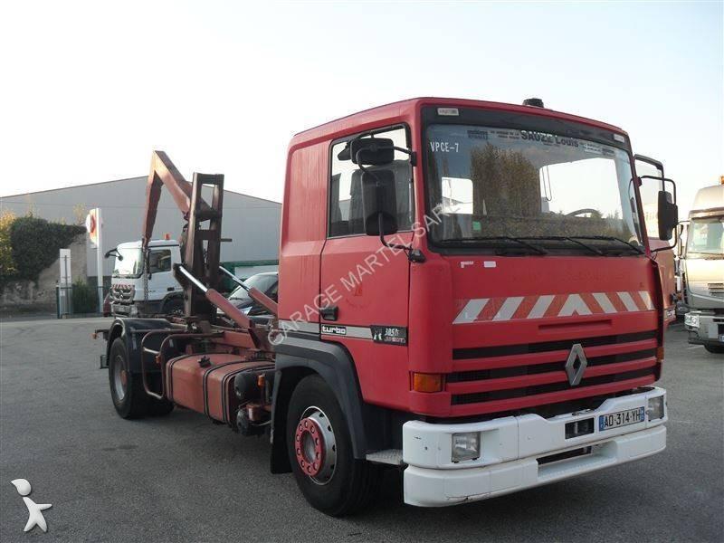 Camion renault polybenne guima gamme r 385 4x2 gazoil euro for Garage martel grigny