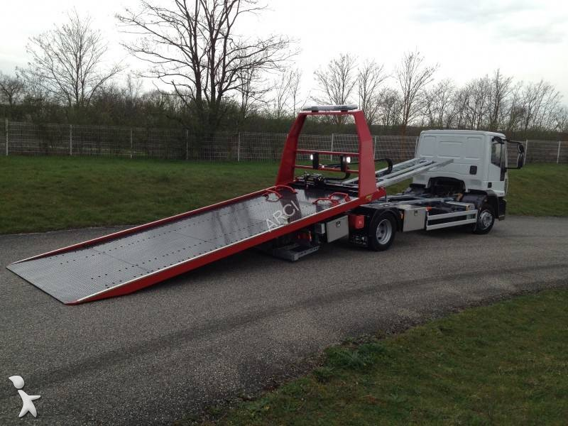camion iveco porte voitures eurocargo 120e18 4x2 euro 4 occasion n 1653081. Black Bedroom Furniture Sets. Home Design Ideas