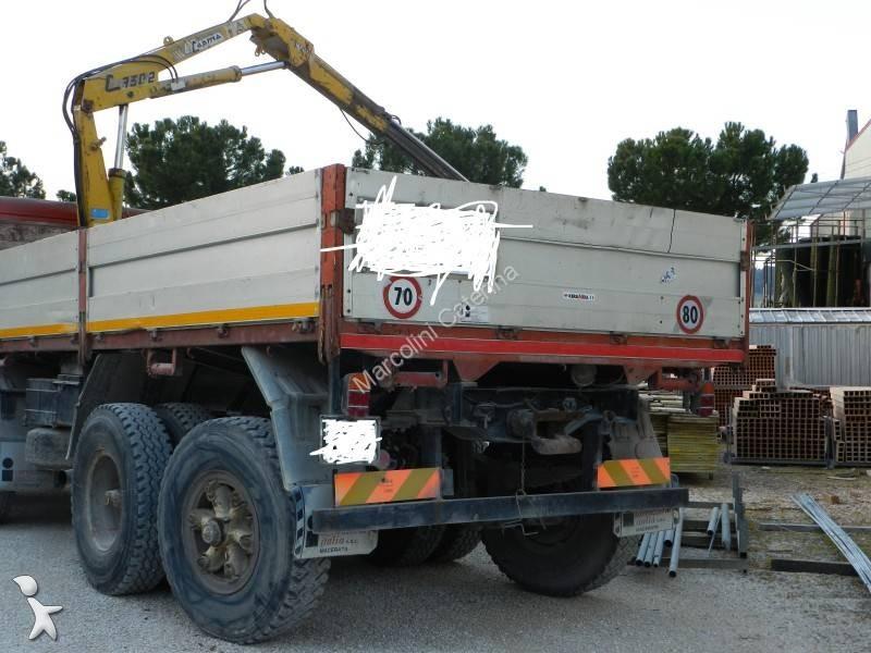 camion fiat plateau ridelles 4x2 gazoil occasion n 1666286. Black Bedroom Furniture Sets. Home Design Ideas