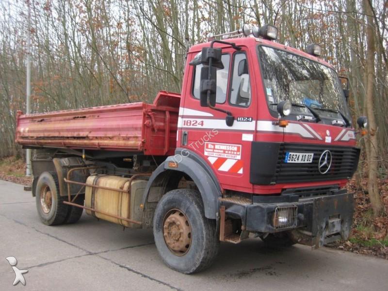 camion mercedes benne 1824 ak kipper 4x4 occasion n 1834722. Black Bedroom Furniture Sets. Home Design Ideas