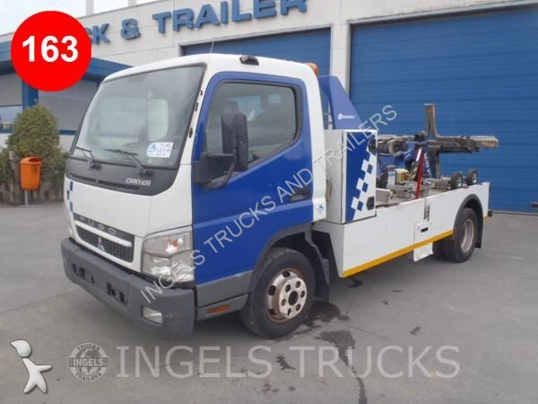 Four Way Side Loader Forklift Mitsubishi Rbm2025k Series: Used Mitsubishi Tow Truck CANTER Euro 5