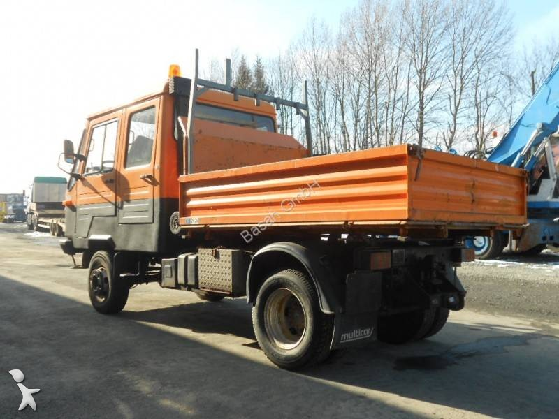 used multicar m26 construction dump truck 4x4 diesel euro. Black Bedroom Furniture Sets. Home Design Ideas