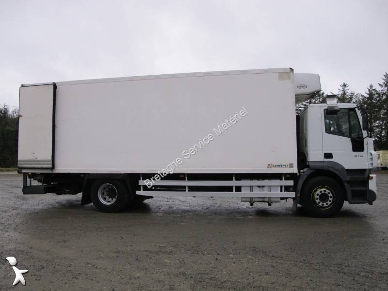 camion iveco frigo carrier monotemperatura 4x2 euro 3 sponda usato n 1887273. Black Bedroom Furniture Sets. Home Design Ideas