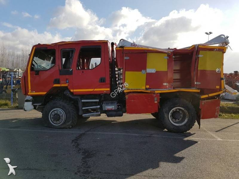 camion renault pompiers midlum 280 dxi gazoil euro 5