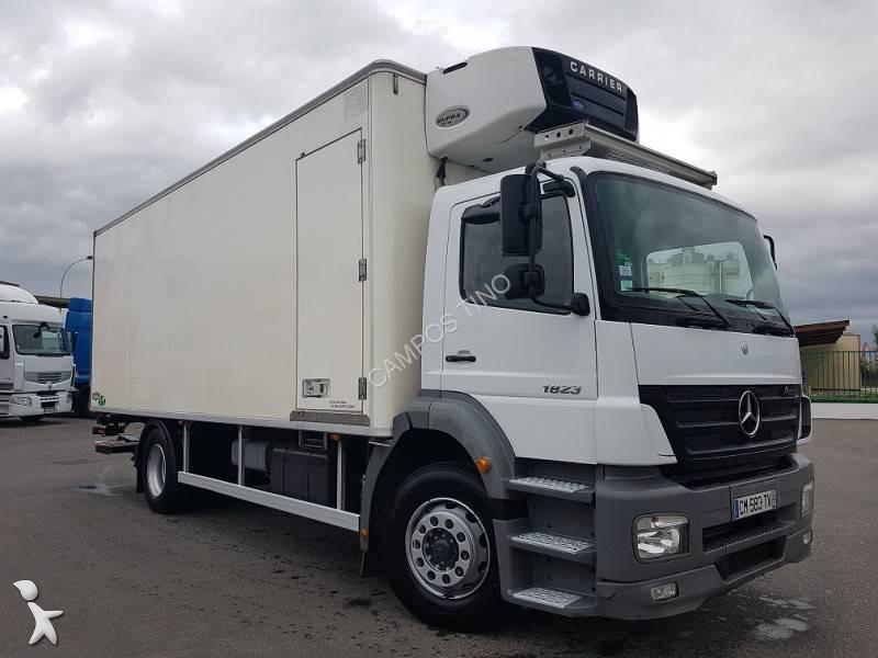 camion mercedes frigo carrier axor 1823 euro 4 hayon occasion n 1935510. Black Bedroom Furniture Sets. Home Design Ideas