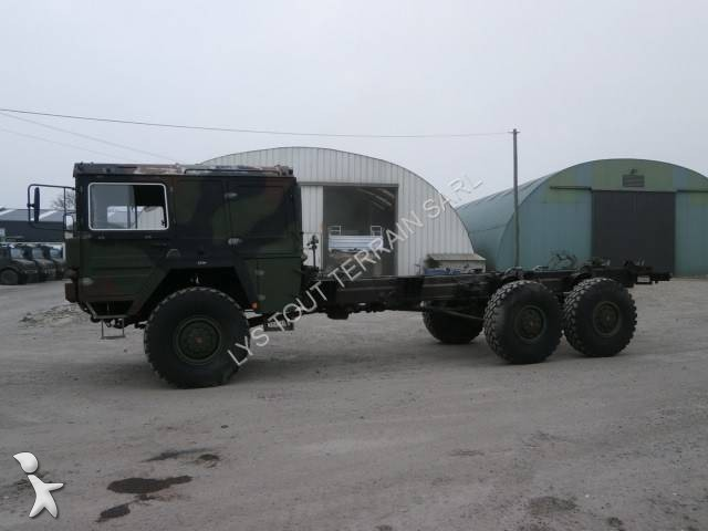 camion man militaire kat1 6x6 gazoil occasion n 1990495. Black Bedroom Furniture Sets. Home Design Ideas