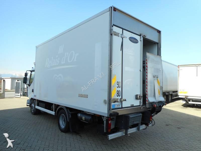 Camion renault frigo carrier multi temp rature midlum euro 4 hayon occasion n 2017134 - Temperature frigo 10 degres ...
