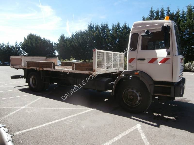 camion renault plateau gamme g 300 maxter 4x2 gazoil euro 1 occasion n 2032050. Black Bedroom Furniture Sets. Home Design Ideas