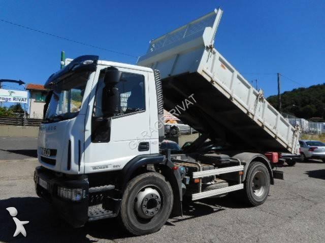 camion iveco benne eurocargo 150e25 4x2 gazoil euro 5 occasion n 2125148. Black Bedroom Furniture Sets. Home Design Ideas