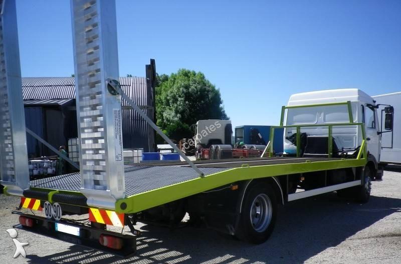 camion renault porte engins gazoil euro 2 occasion n 2125153. Black Bedroom Furniture Sets. Home Design Ideas
