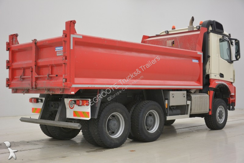 camion mercedes benne arocs 6x6 gazoil euro 6 occasion n 2126619. Black Bedroom Furniture Sets. Home Design Ideas