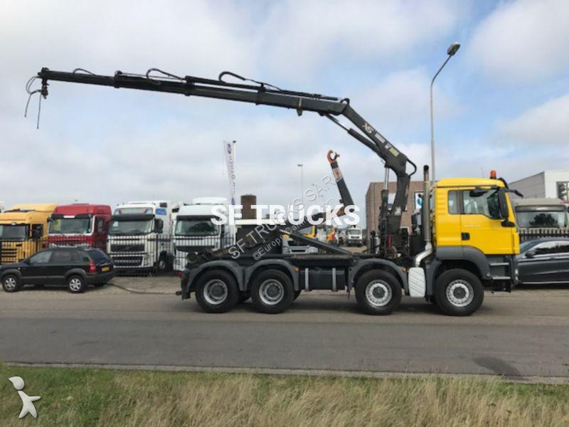 camion man polybenne tgs 8x4 gazoil euro 5 grue occasion. Black Bedroom Furniture Sets. Home Design Ideas