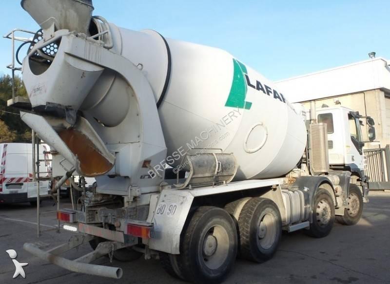 Camion iveco b ton toupie malaxeur trakker 360 8x4 - Camion toupie beton ...