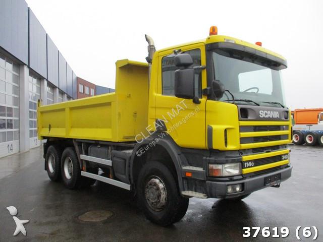 camion scania benne p114 6x6 gazoil euro 2 occasion n 2313287. Black Bedroom Furniture Sets. Home Design Ideas