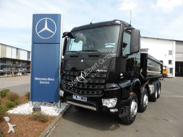 camion mercedes tri benne arocs 4151 k 8x4 kipper l haus. Black Bedroom Furniture Sets. Home Design Ideas