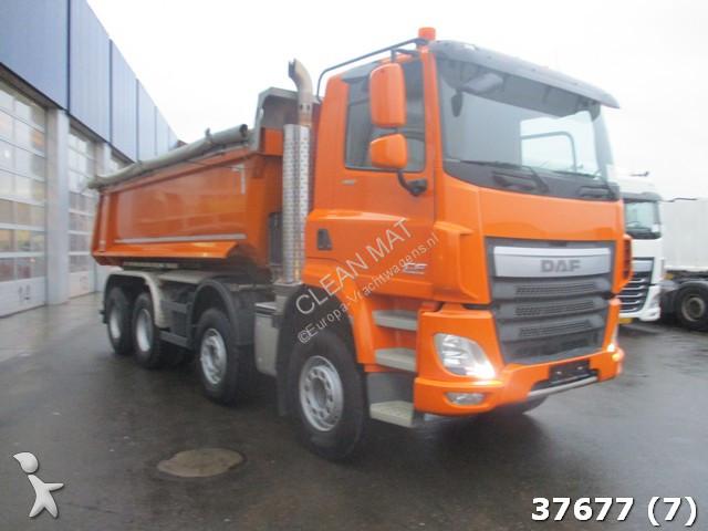 used daf cf tipper truck 460 8x4 diesel euro 6 n 2371131. Black Bedroom Furniture Sets. Home Design Ideas