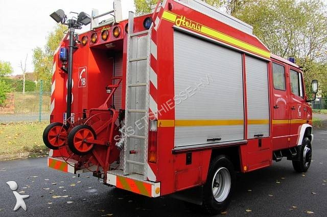 used mercedes 814 fire engine rescue vehicle truck 4x4 diesel euro 1 n 2395665. Black Bedroom Furniture Sets. Home Design Ideas