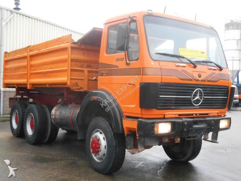 used mercedes 2632 tipper truck 6x6 diesel n 2467526. Black Bedroom Furniture Sets. Home Design Ideas