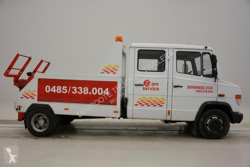 camion mercedes porte voitures vario 4x2 gazoil euro 2 occasion n 2502671. Black Bedroom Furniture Sets. Home Design Ideas