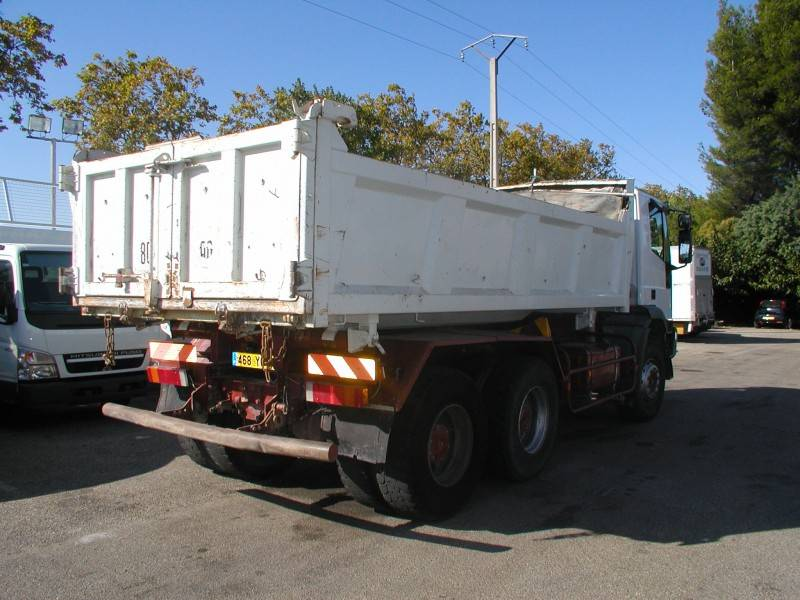 Location camion iveco bi benne cursor 350 6x4 gazoil occasion n 25263 - Location camion benne prix ...