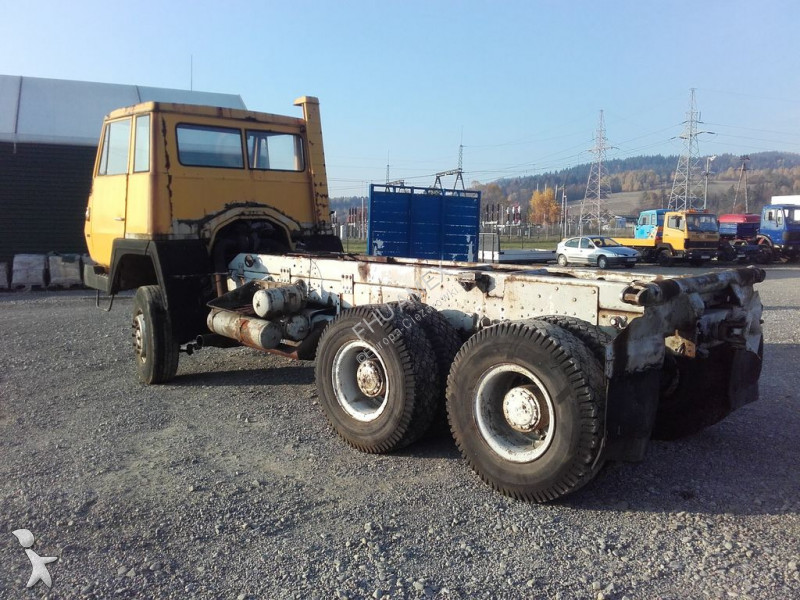 Used Steyr chassis truck - 1491 32S28 6x6 Diesel - n°2576973