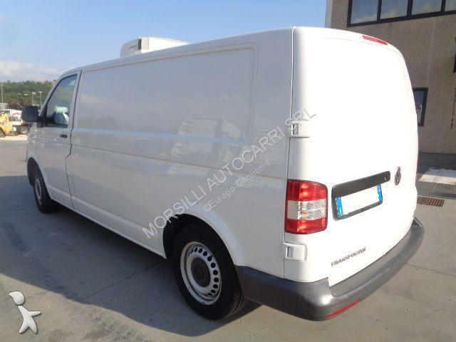camion volkswagen frigo transporter 2 0 tdi 114 cv gasolio euro 5 usato n 2639241. Black Bedroom Furniture Sets. Home Design Ideas