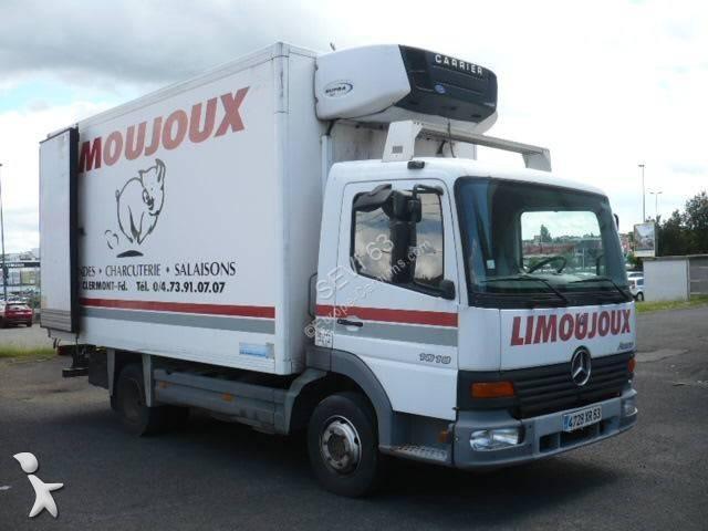camion frigo porte viandes occasion mercedes atego 1018 n gazoil carrier