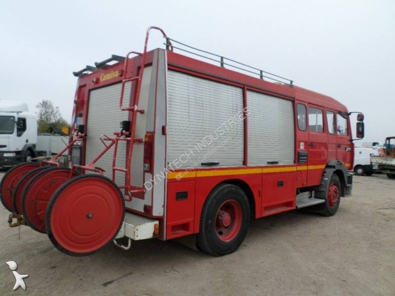 camion pompiers occasion renault gr 260 annonce n 2893000. Black Bedroom Furniture Sets. Home Design Ideas