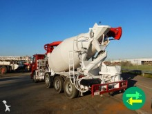 used Scania P concrete mixer + pump truck concrete truck 113P 8x2 Diesel - n°2897038 - Picture 4