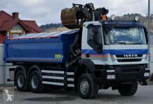 Zobaczyć zdjęcia Ciężarówka Iveco Trakker 360 Kipper 5,20m*6x6*+KranTopzustand