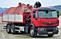 Voir les photos Camion Renault Premium 370 Kipper 6,30m+Kran 6x4Topzustand!