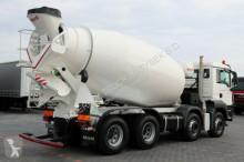 Voir les photos Camion MAN TGS 32.360 / 8X4 / BETONMIXER 9M3 /BARYVAL /E 5