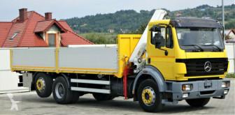 Zobaczyć zdjęcia Ciężarówka Mercedes  2527 Pritsche 7,30 m + KRAN