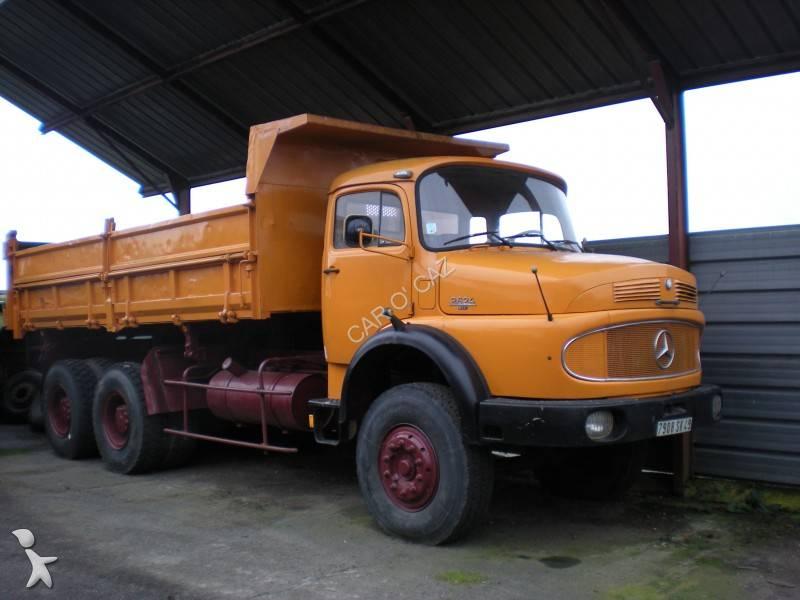 camion mercedes benne 6x4 gazoil occasion n 176 500765