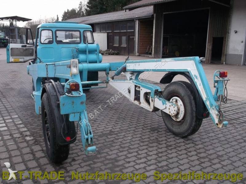 Camion unimog porte containers u421 4x2 occasion n 516265 for Acheter container occasion