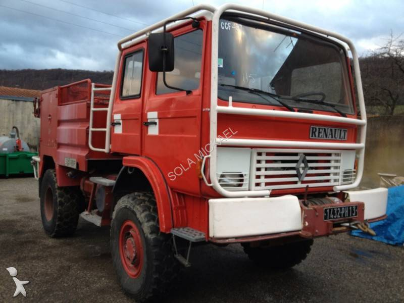 camion renault pompiers gamme m 150 4x4 gazoil occasion. Black Bedroom Furniture Sets. Home Design Ideas