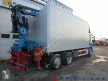 Voir les photos Camion Scania P380 Glas Metall Wertstoff Recycling 37m³ 1.Hand
