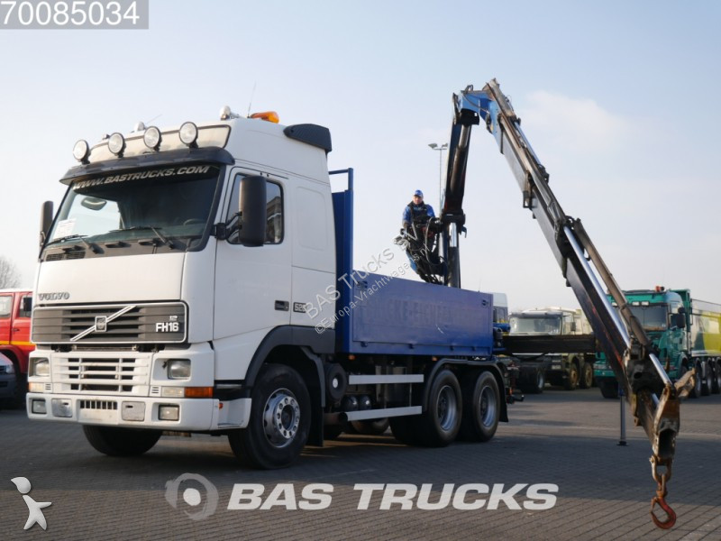 camion volvo plateau fh16 520 6x4 gazoil euro 2 grue occasion n 2349678. Black Bedroom Furniture Sets. Home Design Ideas