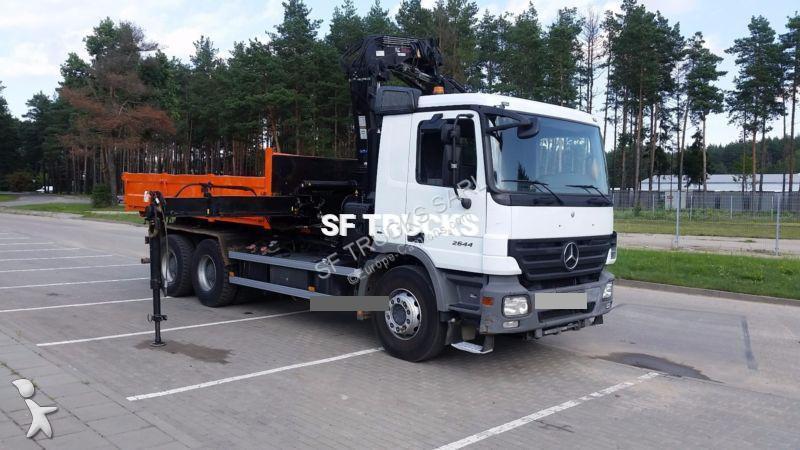 camion mercedes polybenne actros 2644 6x4 gazoil euro 4. Black Bedroom Furniture Sets. Home Design Ideas