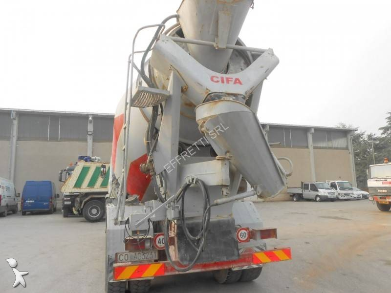 Camion iveco calcestruzzo rotore mescolatore 6x4 for Effretti usato