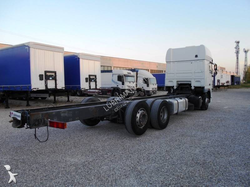 camion daf ch u00e2ssis xf105 460 6x2 euro 5 occasion