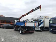 Voir les photos Camion Scania P94 R230 3-stronny kiper + dzwig HMF