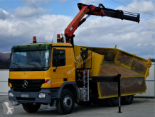 Voir les photos Camion Mercedes  Actros 3336 Kipper+Bordmatic 5,00m + Kran!