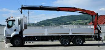Voir les photos Camion Renault Premium 410 DXI Pritsche 7,20m+Kran *6x4*