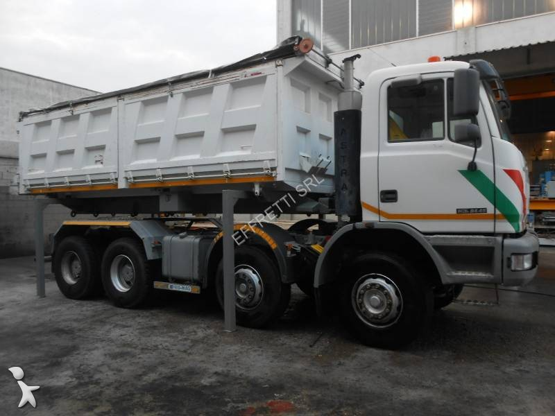 Camion astra scarrabile hd7 c 8x4 gasolio euro 3 for Effretti usato